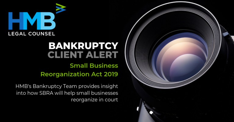 The Small Business Reorganization Act Arrives in February 2020 - Here's What you Need to Know