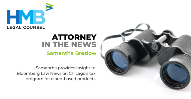 Samantha Breslow Discusses Chicago's Tax on Cloud-Based Products