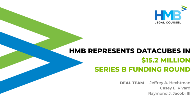 HMB Represents DataCubes in Series B Funding