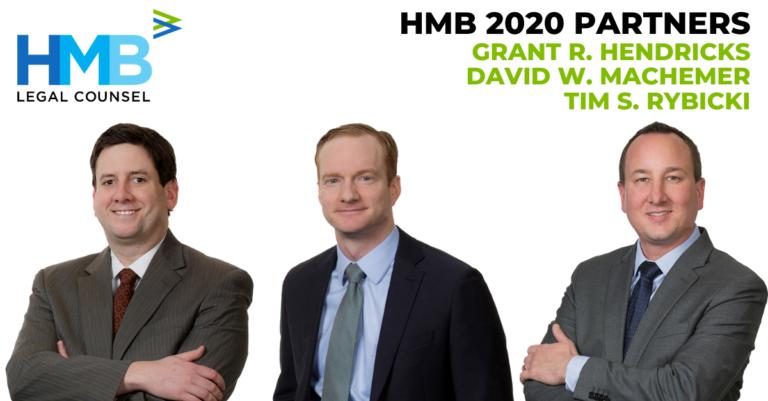 Grant Hendricks, David Machemer, Tim Rybicki